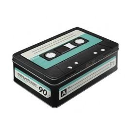 Caja Cinta Cassette Metal Vacía