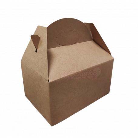Caja Cartón Para Chuches Marrón Kraft
