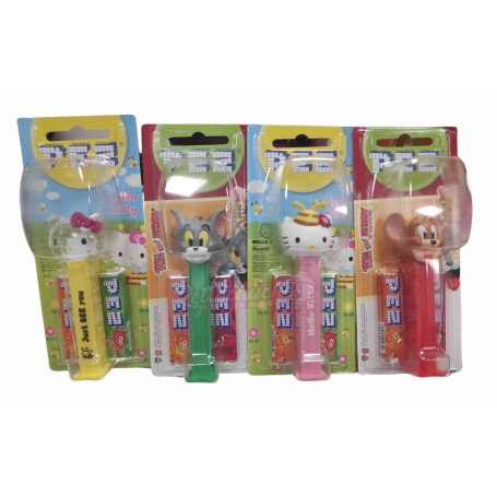 Expendedor Pez Tom y Jerry y Hello Kitty