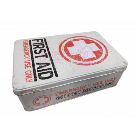 Botiquín Caja Metálica Retro Vintage Vacía First Aid