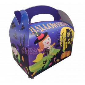 Caja Cartón Para Chuches Halloween Vacia