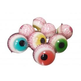 Ojos Gelatina o Gominola Rellenos
