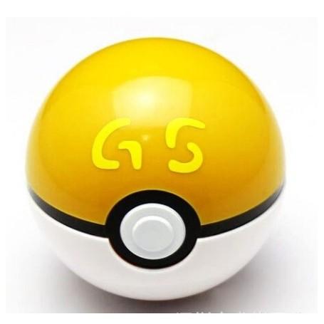 Pokeball con figura de pokemon en el interior
