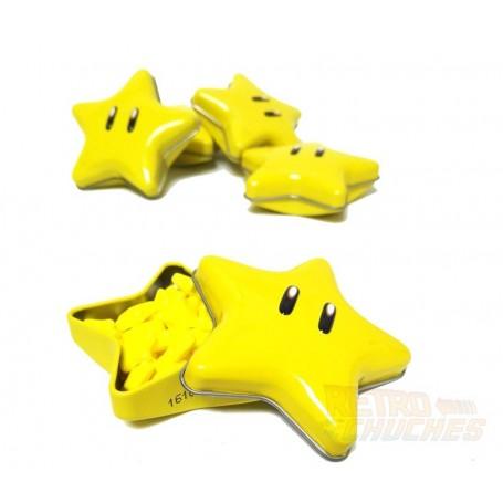 Super Mario Bros Caramelos en forma de Estrella