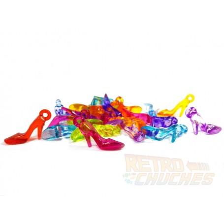 Zapatos de tacon o tacones de la Suerte de plástico Colgantes